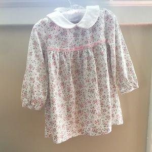  Chaps Long-Sleeve Soft Floral Dress